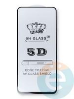 Защитное стекло 5D с полной проклейкой на Xiaomi Redmi Note 9s/Note 9 Pro черное