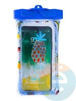 Водонепроницаемый чехол Kids для смартфона с поплавком и шнурком ананас