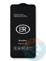Защитное стекло 6D с полной проклейкой на Honor 30i/Y8P черное