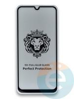 Защитное стекло 5D с полной проклейкой на Samsung Galaxy M31 черное