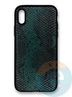 Накладка силиконовая Pitone для Apple iPhone X/Xs зеленая