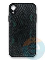 Накладка силиконовая Pitone для Apple iPhone Xr зеленая