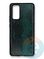 Накладка силиконовая Pitone для Huawei Honor 30 Pro зеленая