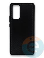 Накладка силиконовая Pitone для Huawei Honor 30 Pro черная