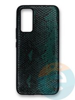 Накладка силиконовая Pitone для Huawei Honor 30 зеленая