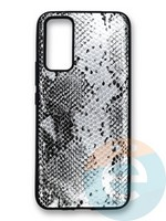 Накладка силиконовая Pitone для Huawei Honor 30 серебристая