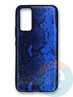 Накладка силиконовая Pitone для Huawei Honor 30 синяя
