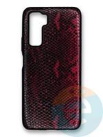 Накладка силиконовая Pitone для Huawei Honor 30S бордовая