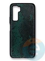 Накладка силиконовая Pitone для Huawei Honor 30S зеленая