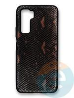 Накладка силиконовая Pitone для Huawei Honor 30S коричневая