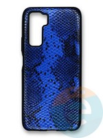 Накладка силиконовая Pitone для Huawei Honor 30S синяя