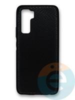 Накладка силиконовая Pitone для Huawei Honor 30S черная