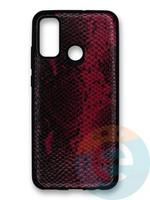 Накладка силиконовая Pitone для Huawei P Smart 2020 бордовая