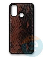 Накладка силиконовая Pitone для Huawei P Smart 2020 коричневая