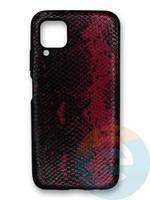 Накладка силиконовая Pitone для Huawei P40 Lite/Nova 6SE/Nova 7i бордовая