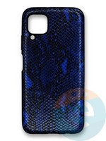 Накладка силиконовая Pitone для Huawei P40 Lite/Nova 6SE/Nova 7i синяя