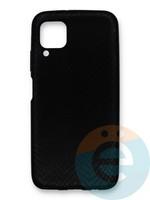 Накладка силиконовая Pitone для Huawei P40 Lite/Nova 6SE/Nova 7i черная