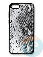 Накладка силиконовая Pitone для Huawei Y5 2018/Honor 7A серебристая