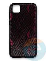 Накладка силиконовая Pitone для Huawei Y5P/Honor 9S бордовая