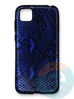 Накладка силиконовая Pitone для Huawei Y5P/Honor 9S синяя