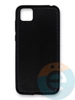 Накладка силиконовая Pitone для Huawei Y5P/Honor 9S черная