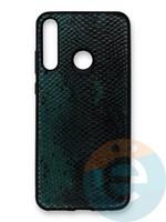 Накладка силиконовая Pitone для Huawei Y6P зеленая