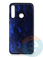 Накладка силиконовая Pitone для Huawei Y6P синяя