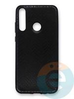 Накладка силиконовая Pitone для Huawei Y6P черная