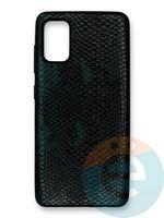 Накладка силиконовая Pitone для Samsung Galaxy A41 зеелная
