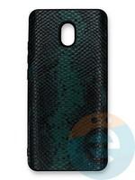 Накладка силиконовая Pitone для Xiaomi Redmi 8A зеленая