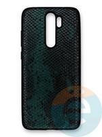 Накладка силиконовая Pitone для Xiaomi Redmi Note 8 Pro зеленая