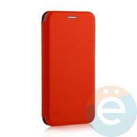 Чехол книжка боковой Fashion Case для Huawei Honor 9S/Y5P красный