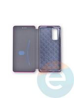 Чехол книжка боковой Fashion Case для Huawei Honor 30 Pro розовый
