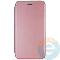 Чехол книжка боковой Fashion Case для Huawei Honor 9S/Y5P розово-золотистый