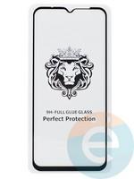 Защитное стекло 5D с полной проклейкой на Xiaomi Redmi 9/9A/9C черное