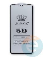 Защитное стекло 5D с полной проклейкой на Xiaomi Mi 10 Lite черное