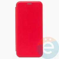 Чехол книжка боковой Fashion Case для Samsung Galaxy A32 красный