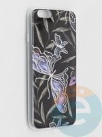 Накладка комбинированная Flowers с силиконовой окантовкой для Apple iPhone 6/6s вид8