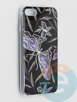 Накладка комбинированная Flowers с силиконовой окантовкой для Apple iPhone 7/8/SE2 вид8