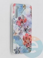 Накладка комбинированная Flowers с силиконовой окантовкой для Xiaomi Redmi Note 8T вид3