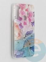 Накладка комбинированная Flowers с силиконовой окантовкой для Xiaomi Redmi Note 8T вид7