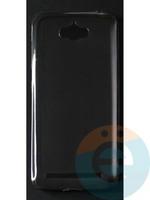 Накладка силиконовая ультратонкая на Asus Zenfone Max тёмно-прозрачная