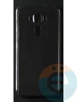 Накладка силиконовая ультратонкая на Asus ZenFone 3 (5.2) тёмно-прозрачная