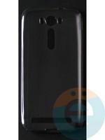Накладка силиконовая ультратонкая на Asus Zenfone 2 Laser (ZE500KL) тёмно-прозрачная