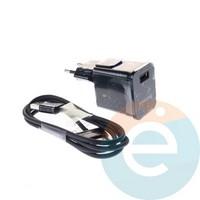 СЗУ+USB кабель для планшетов SAMSUNG Tab 4 2.0 А чёрный