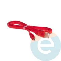 USB кабель Remax Full Speed RC-001m на Micro-USB 1м красный