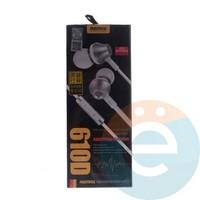 Наушники Remax RM-610 D серебристые