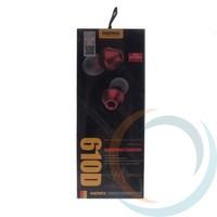 Наушники Remax RM-610D красные