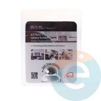 Держатель автомобильный уневерсальный магнитный ATTRACT-I3D белый