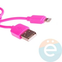 USB кабель Remax RC-06i на Lightning розовый
